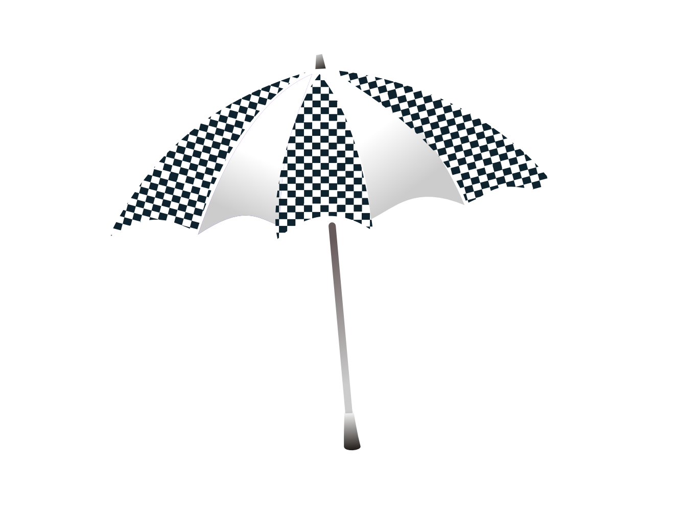 Clipart umbrella template. Black and white panda