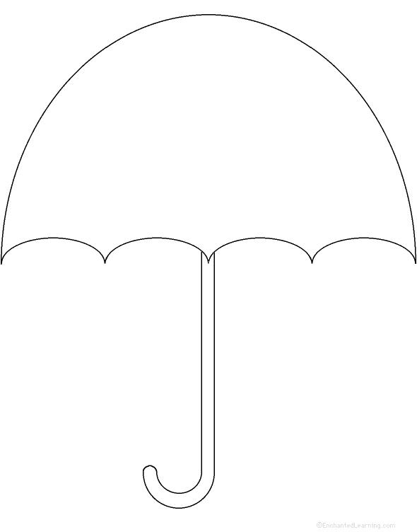 Clipart umbrella top. Free outline download clip