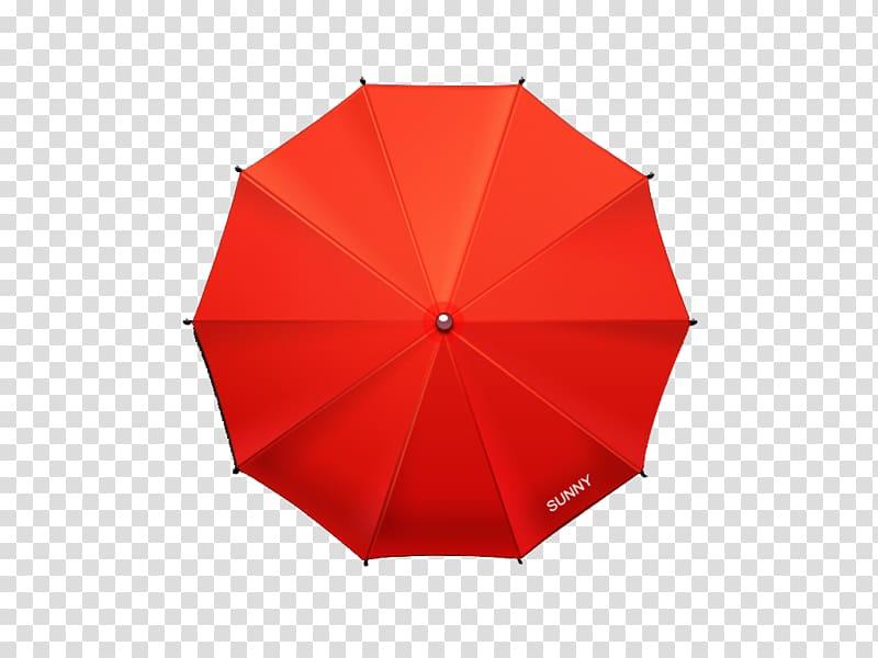 Clipart umbrella top. Red sunny illustration