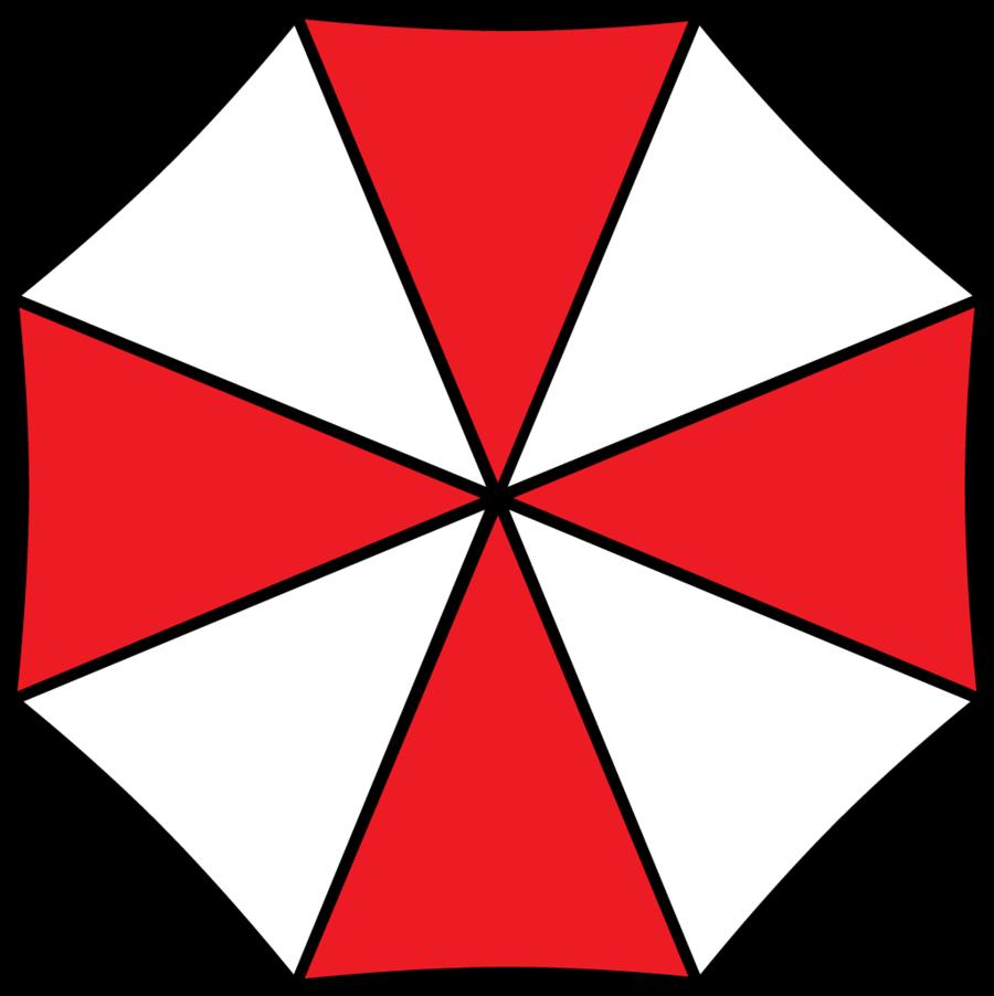 . Clipart umbrella top