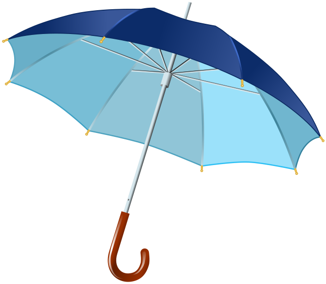 Autobiography of an old. Clipart umbrella turquoise