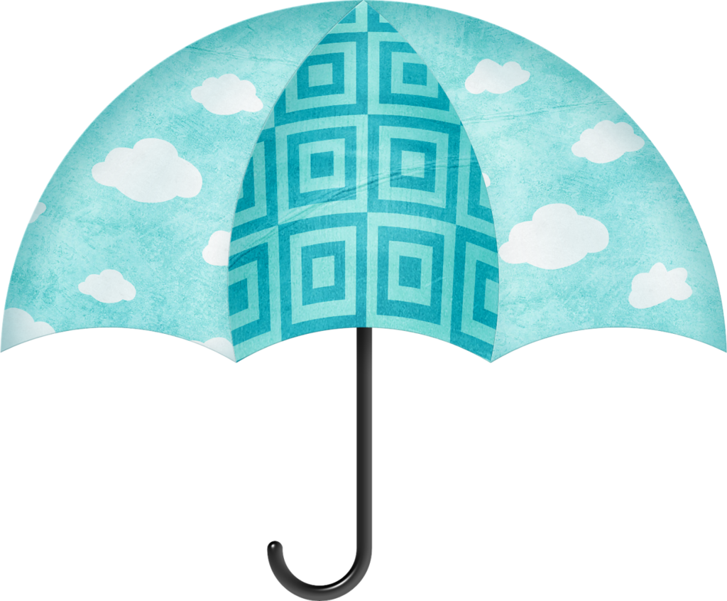 Clipart umbrella turquoise. High resolution png free