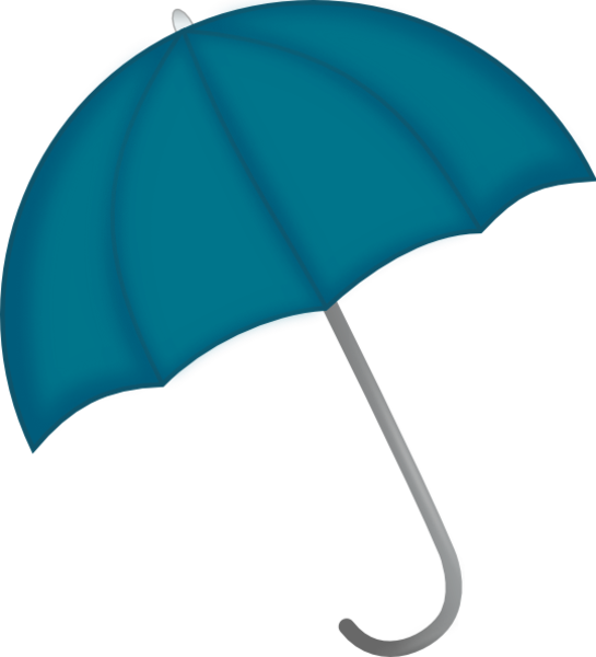Clipart umbrella turquoise. Blue free images at