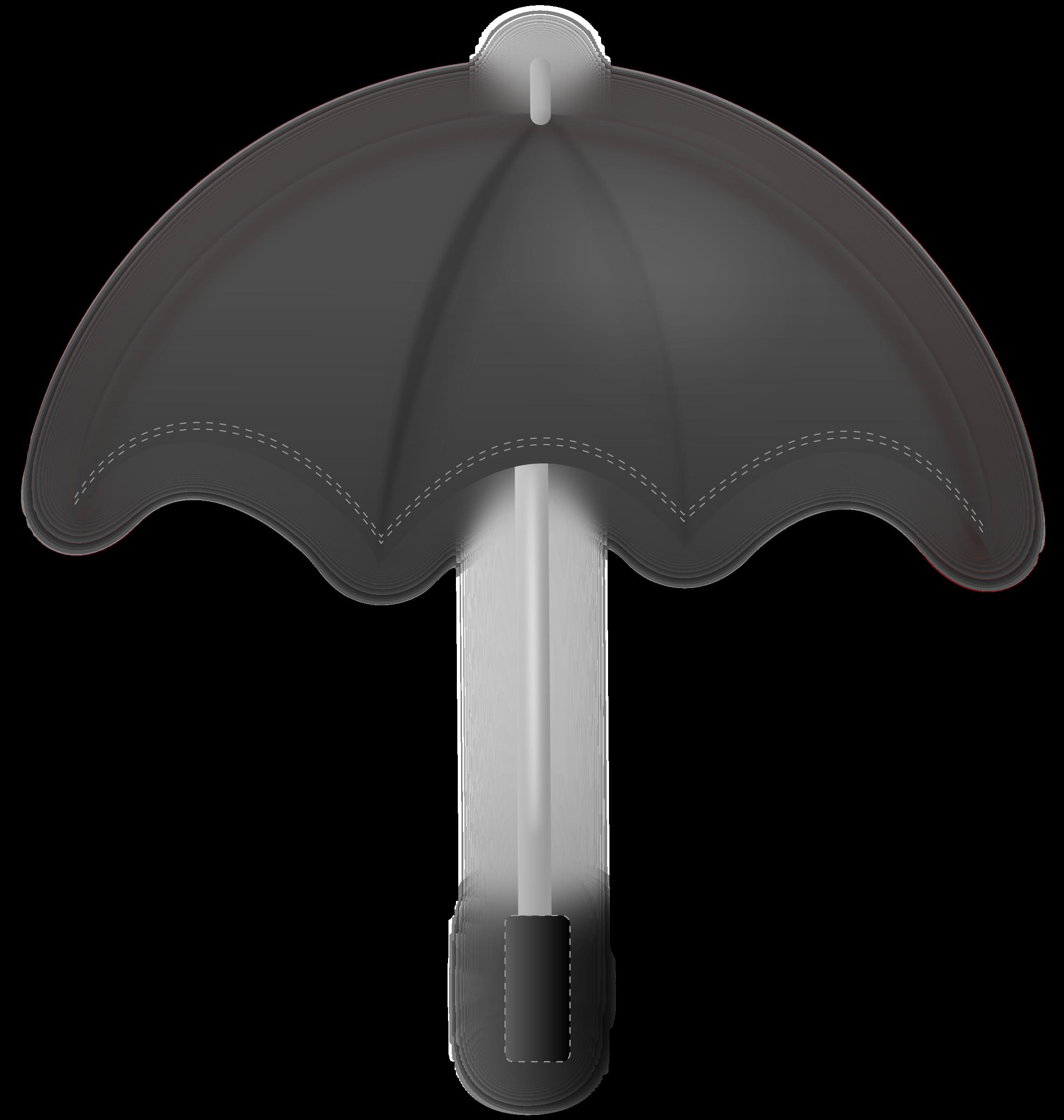 Clipart umbrella umbrellablack. Black big image png