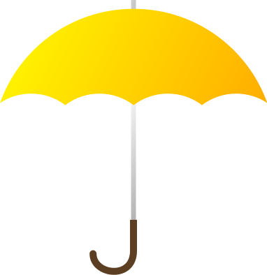 Panda free images . Clipart umbrella yellow umbrella