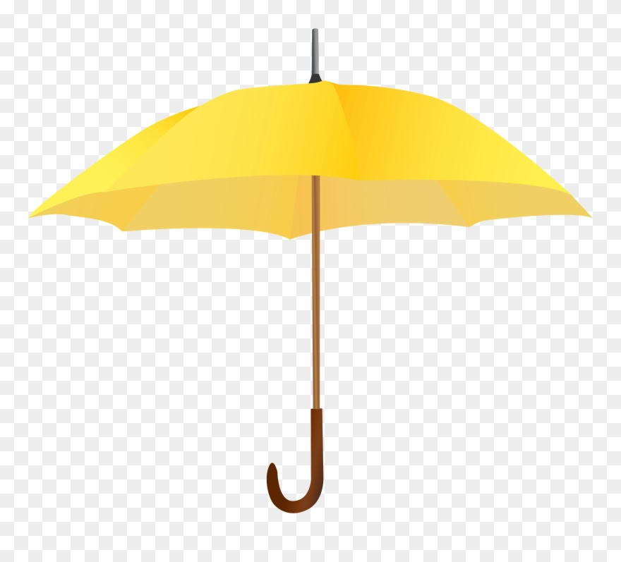Clipart umbrella yellow umbrella. Light cliparts high quality
