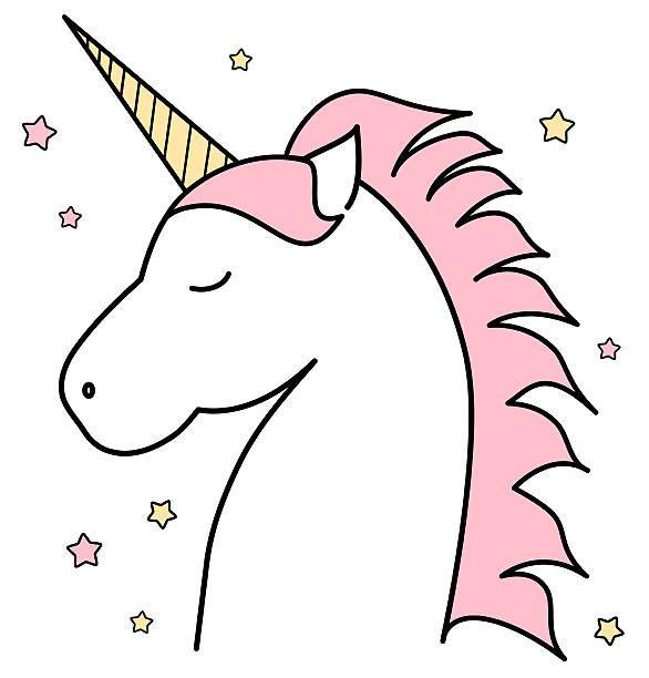 Clipart unicorn. Head pinterest