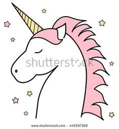 Head pinterest cute cartoon. Clipart unicorn