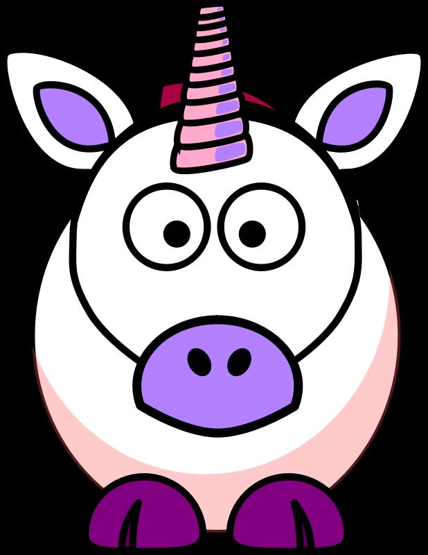 Cartoon medium image png. Clipart unicorn animated