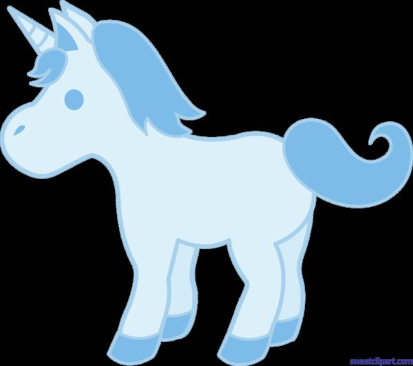 Clipart unicorn blue. Sweet clip art page