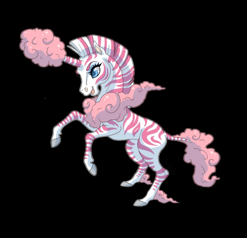 Sold cotton zunicorn adoptable. Clipart unicorn candy