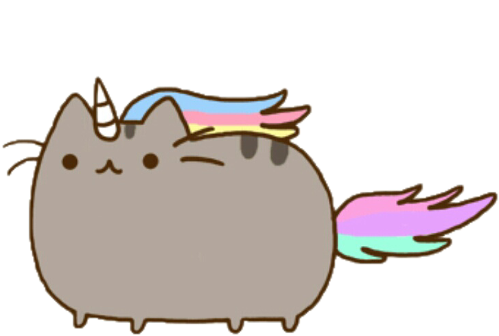 Clipart unicorn cat. Sticker by licorne prout