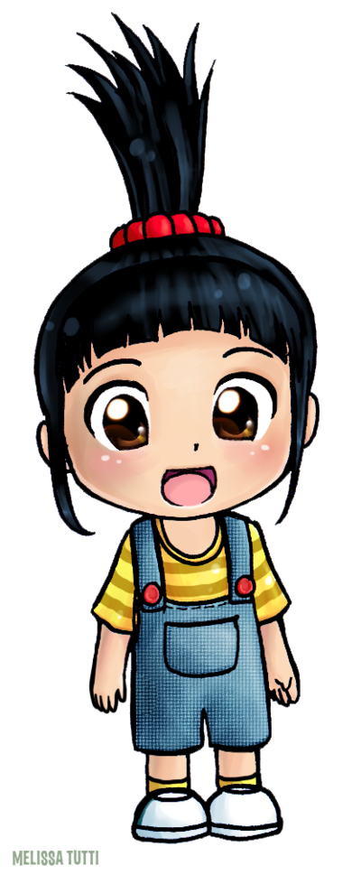 Despicable agnes drawing at. Clipart unicorn dispicable me