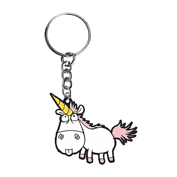 Clipart unicorn dispicable me. Despicable keyring zing pop