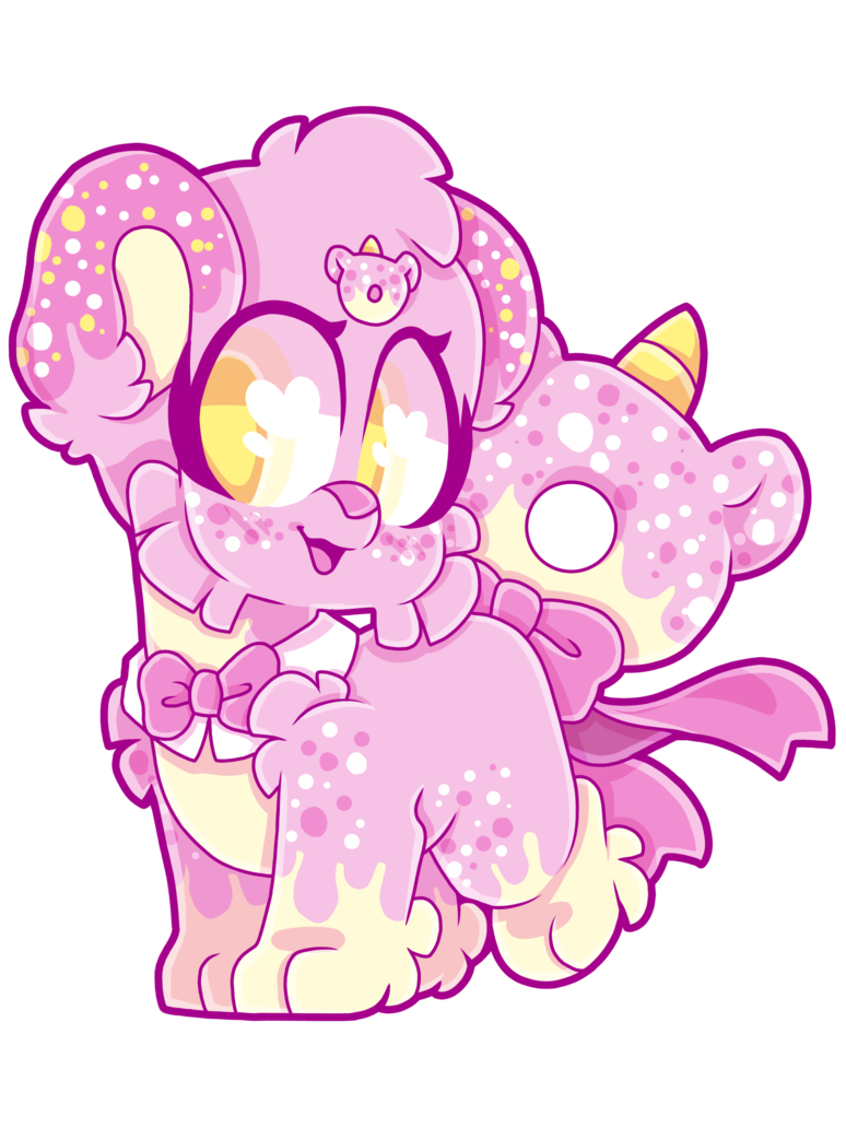 Oc by illuminationartistry on. Donut clipart unicorn