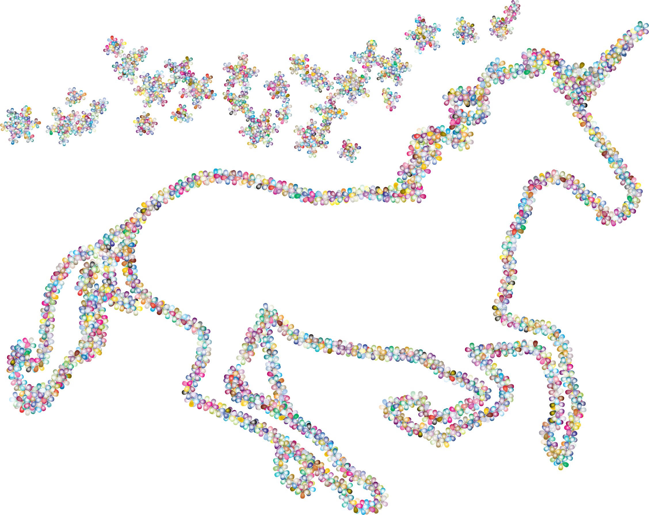 Clipart unicorn flower.  collection of magical