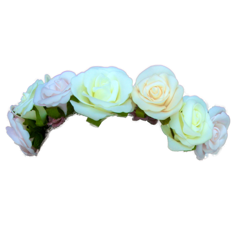 Transparent crowns liked on. Tumblr flower crown png