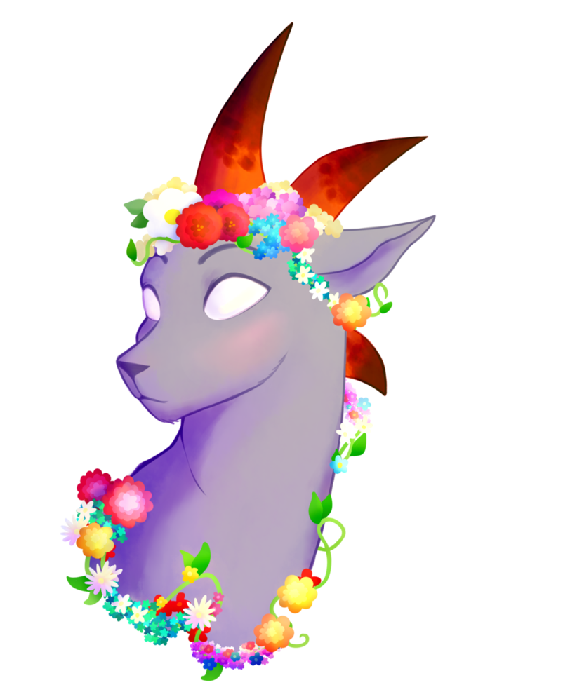 Clipart unicorn flower crown. Babe by happymonster pants