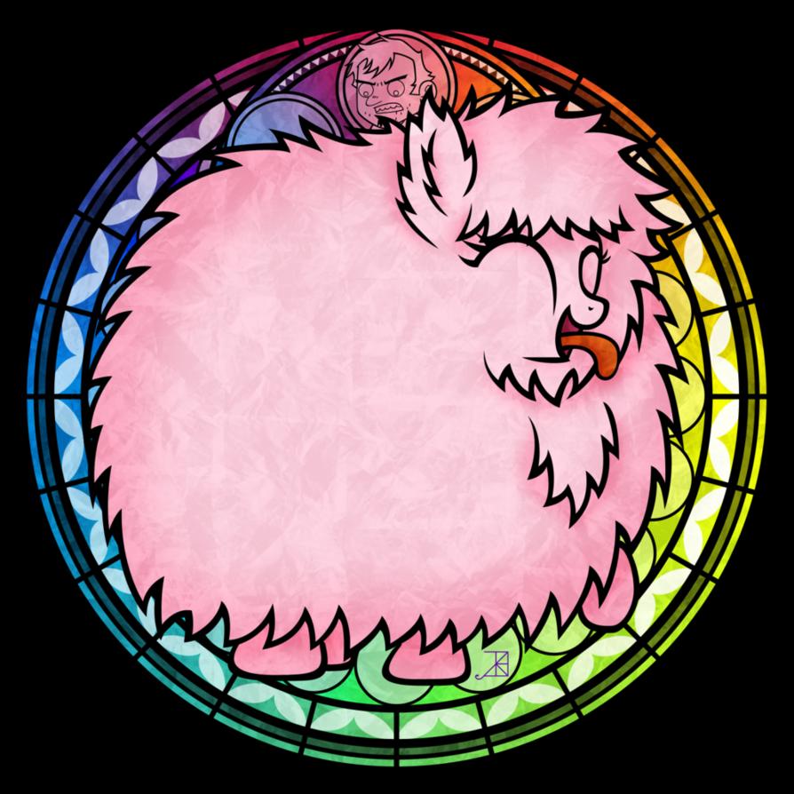 Pink fluffy unicorns dancing. Clipart unicorn glass