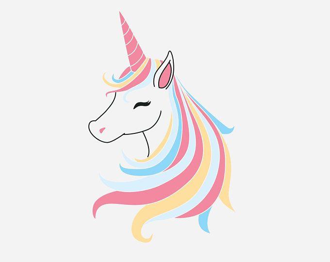 Bundle svg ai . Clipart unicorn logo