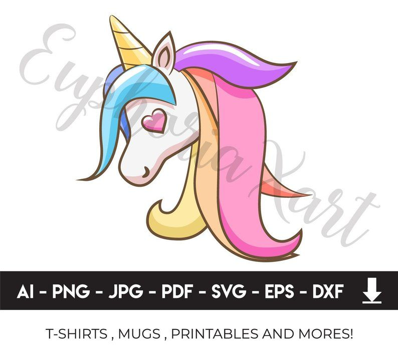 Baby svg horse ears. Clipart unicorn logo