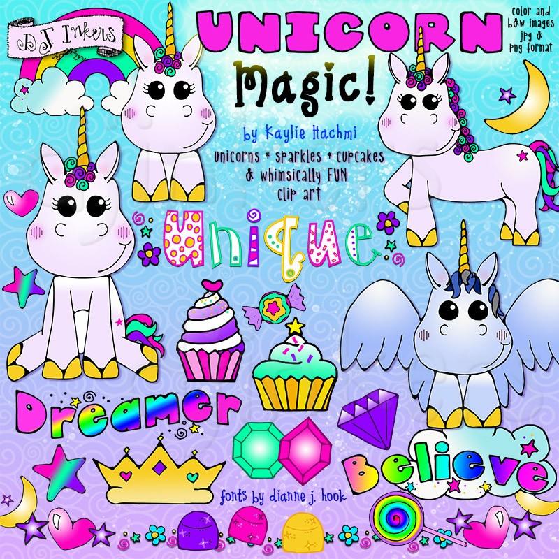 Clipart unicorn magic. Add a little to