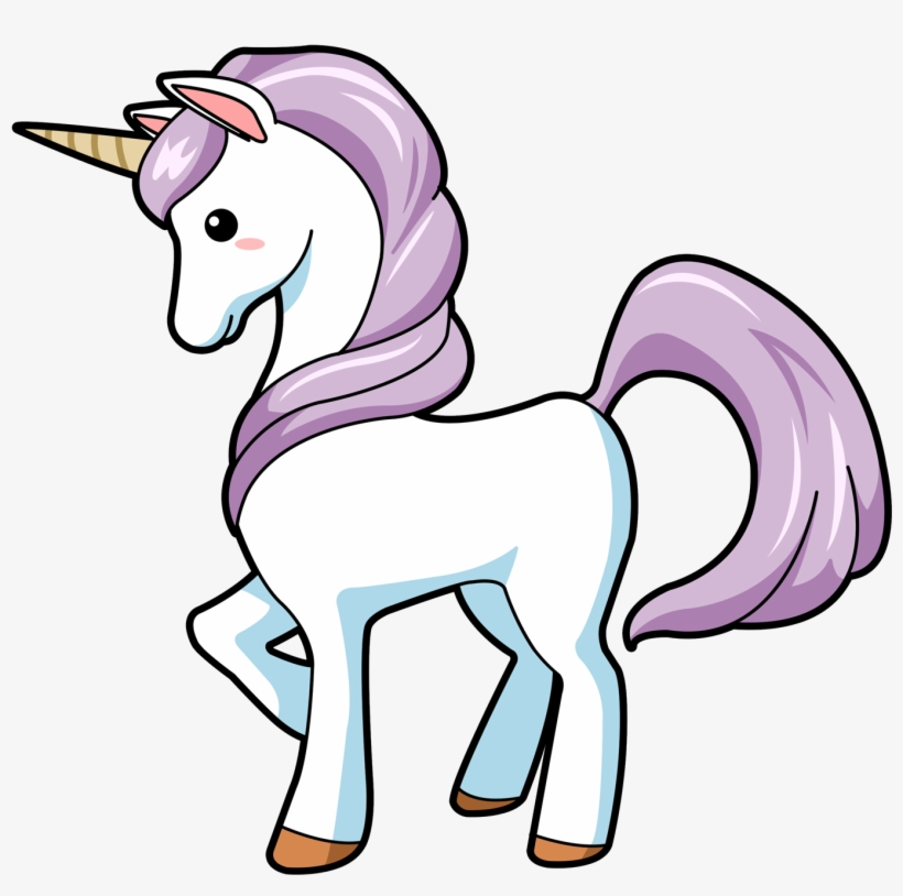 Clipart unicorn magic. Set cute magical