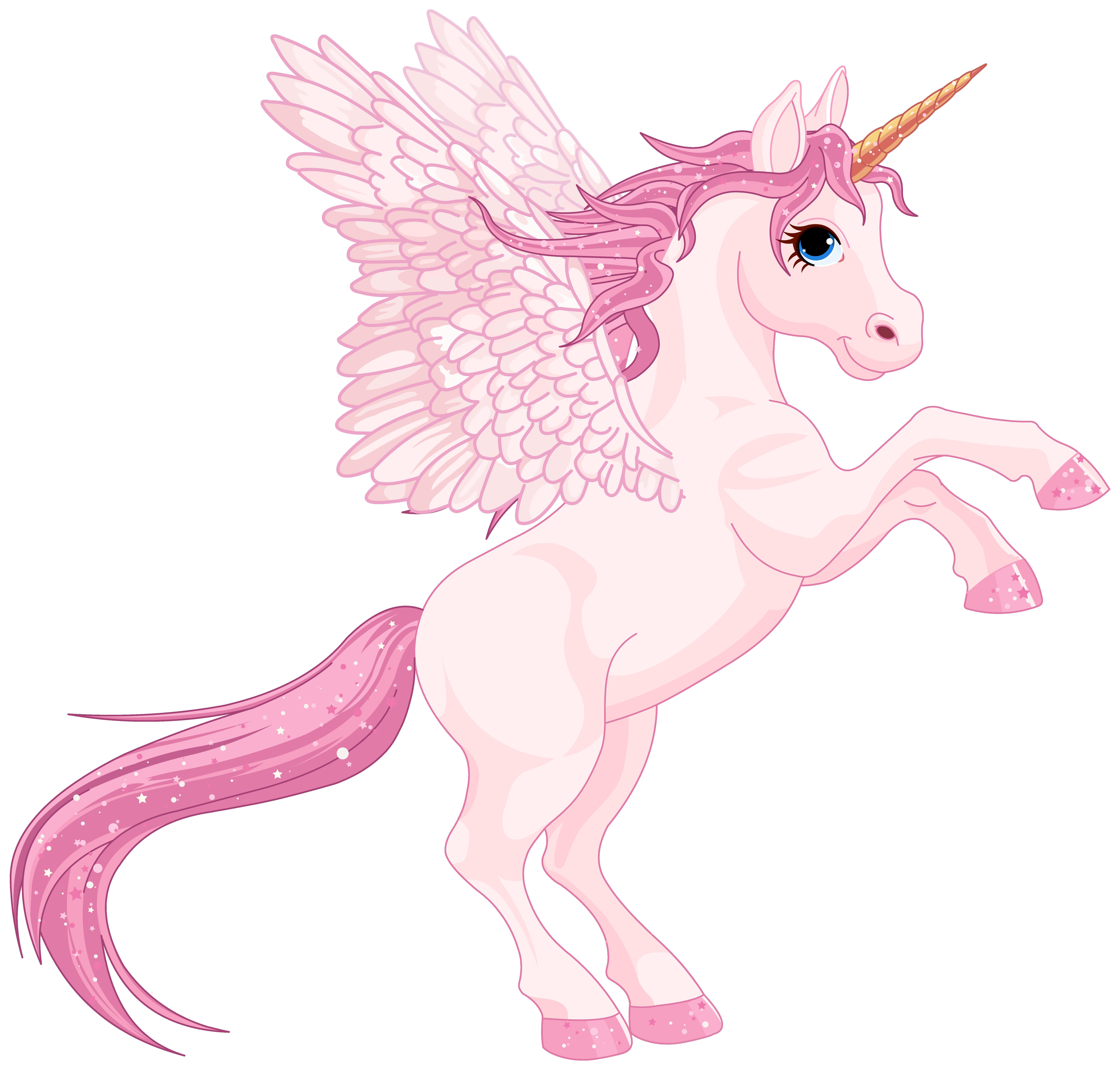 Horn clipart cartoon. Cute pink pegasus png