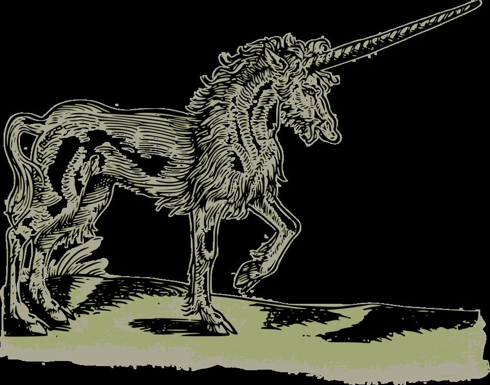 Public domain clip art. Clipart unicorn mythical beast