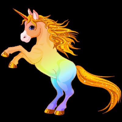 Clipart unicorn mythical beast. Cute clip art cartoon