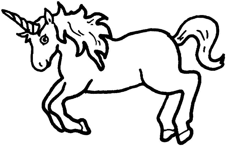 Clipart unicorn outline. This is best clip