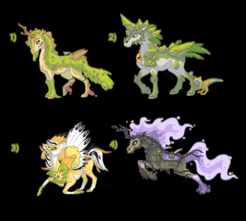 Sold adoptables wild nature. Clipart unicorn pegasus