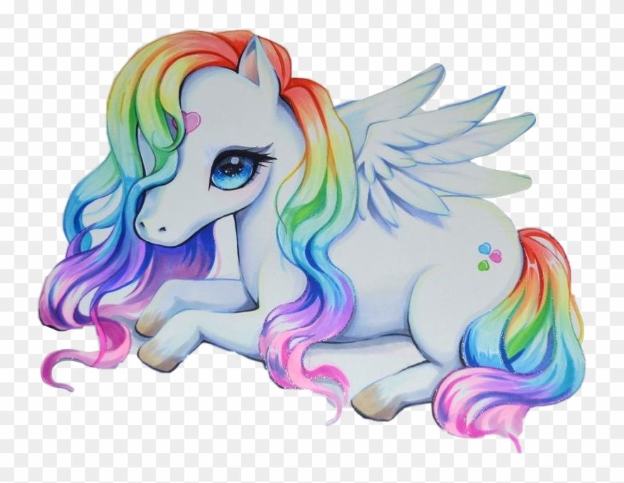 Report abuse cute drawings. Clipart unicorn pegasus