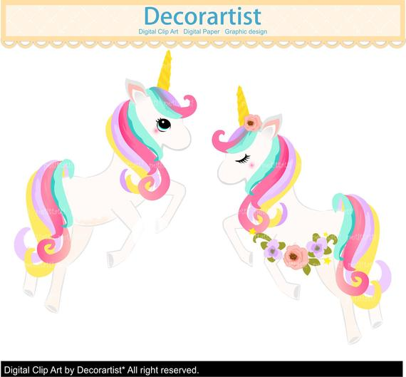 Fairy rainbow unicorns clip. Clipart unicorn pony