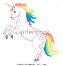 Image result for cartoon. Clipart unicorn scene