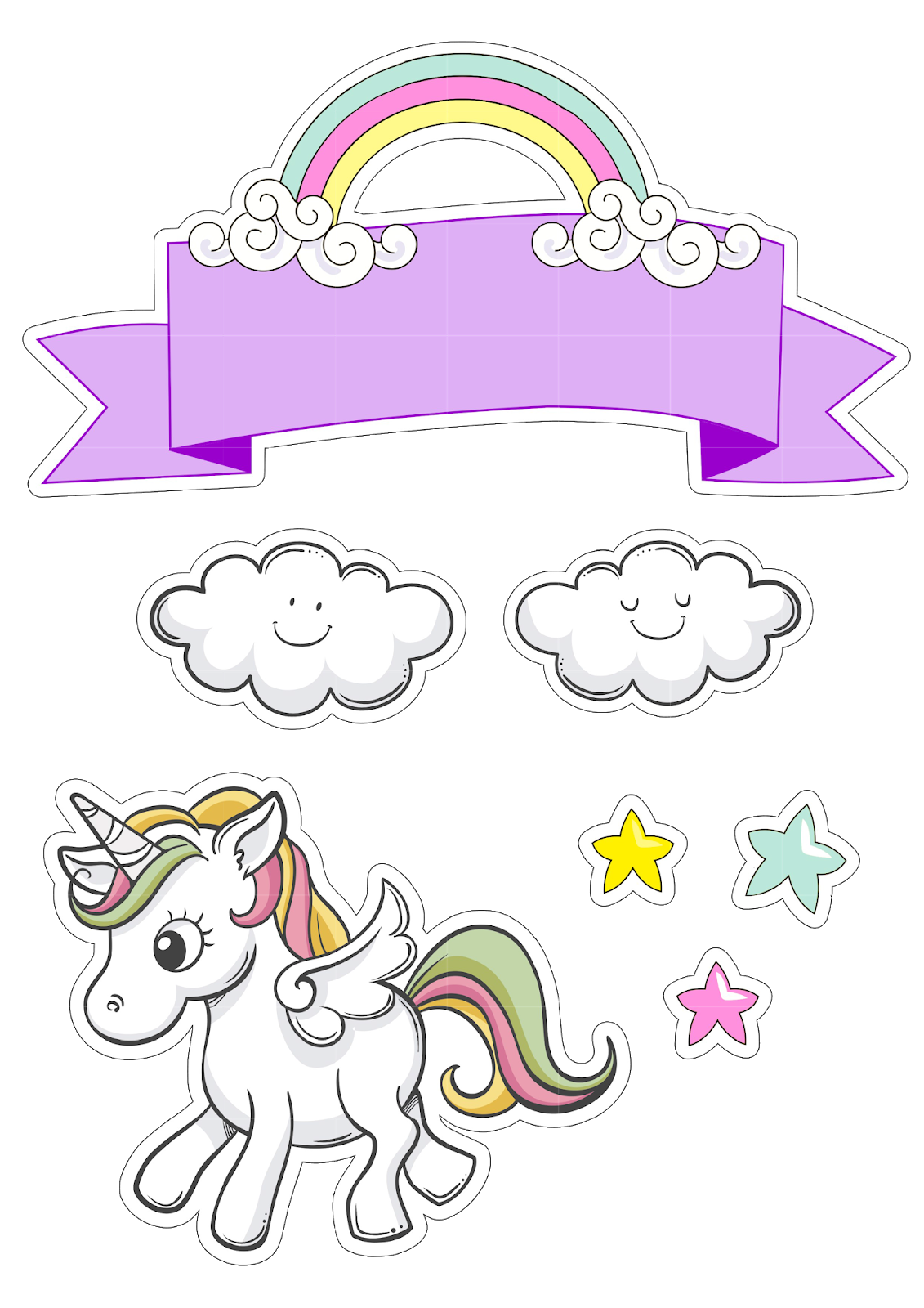 Topo unicornio png pixels. Excited clipart party horn