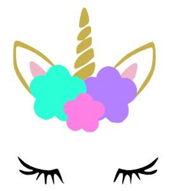 It's just a picture of Unicorn Template Printable inside royal icing