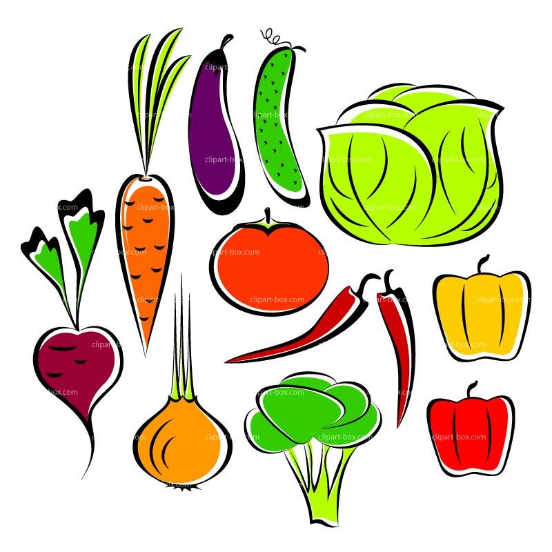 Vegetables clipart veg. Panda free images