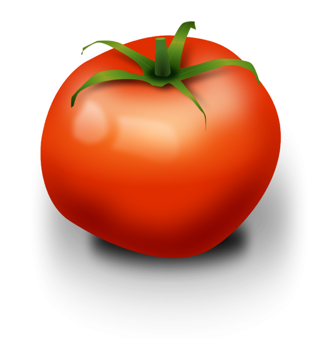 Vegetable tomato. Clipart fruit fresh fruit