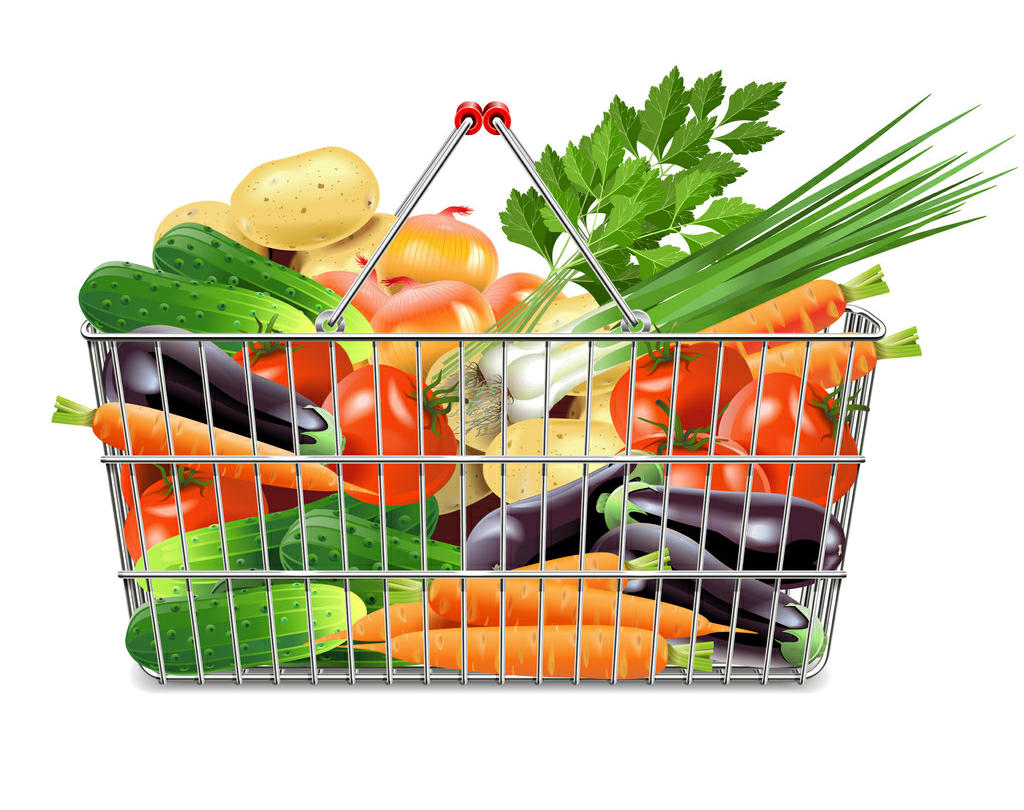 Fruits clipart vegetable store, Fruits vegetable store ...