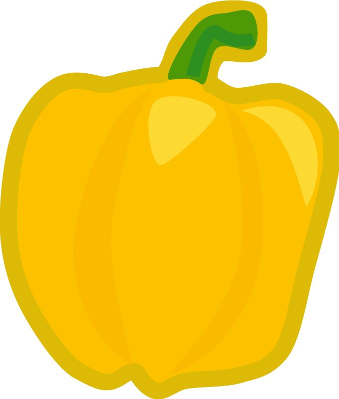 Corn vegetable graphics yellow. Peppers clipart habanero