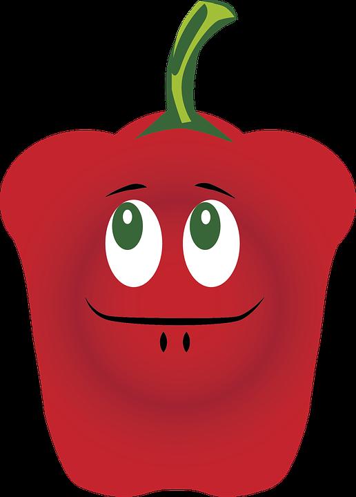 Free photo vegetable fruit. Vegetables clipart bell pepper