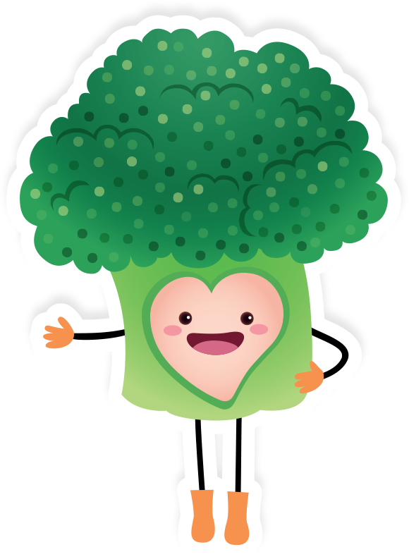 Clipart vegetables broccoli. Apetito nursery food our