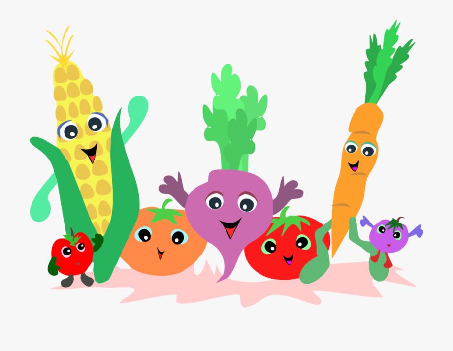 Clipart vegetables cartoon. Fruit clip art vegetable