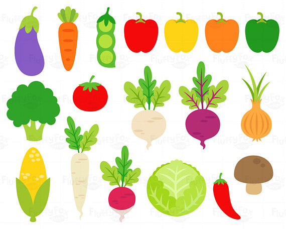 Vegetables clipart salad vegetable. Veggies clip art carrot