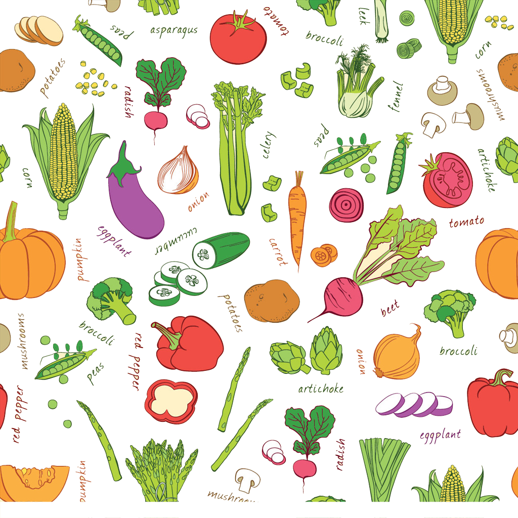 Vegetable fruit stock auglis. Clipart vegetables colored