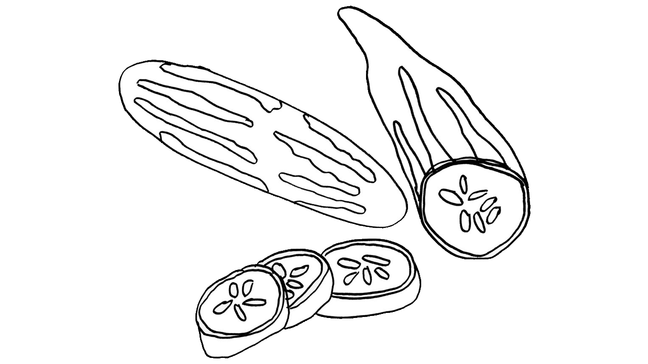Vegetables clipart cucumber.  cool free fruit