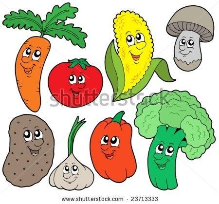 Clipart vegetables easy. Vegetable drawings free download