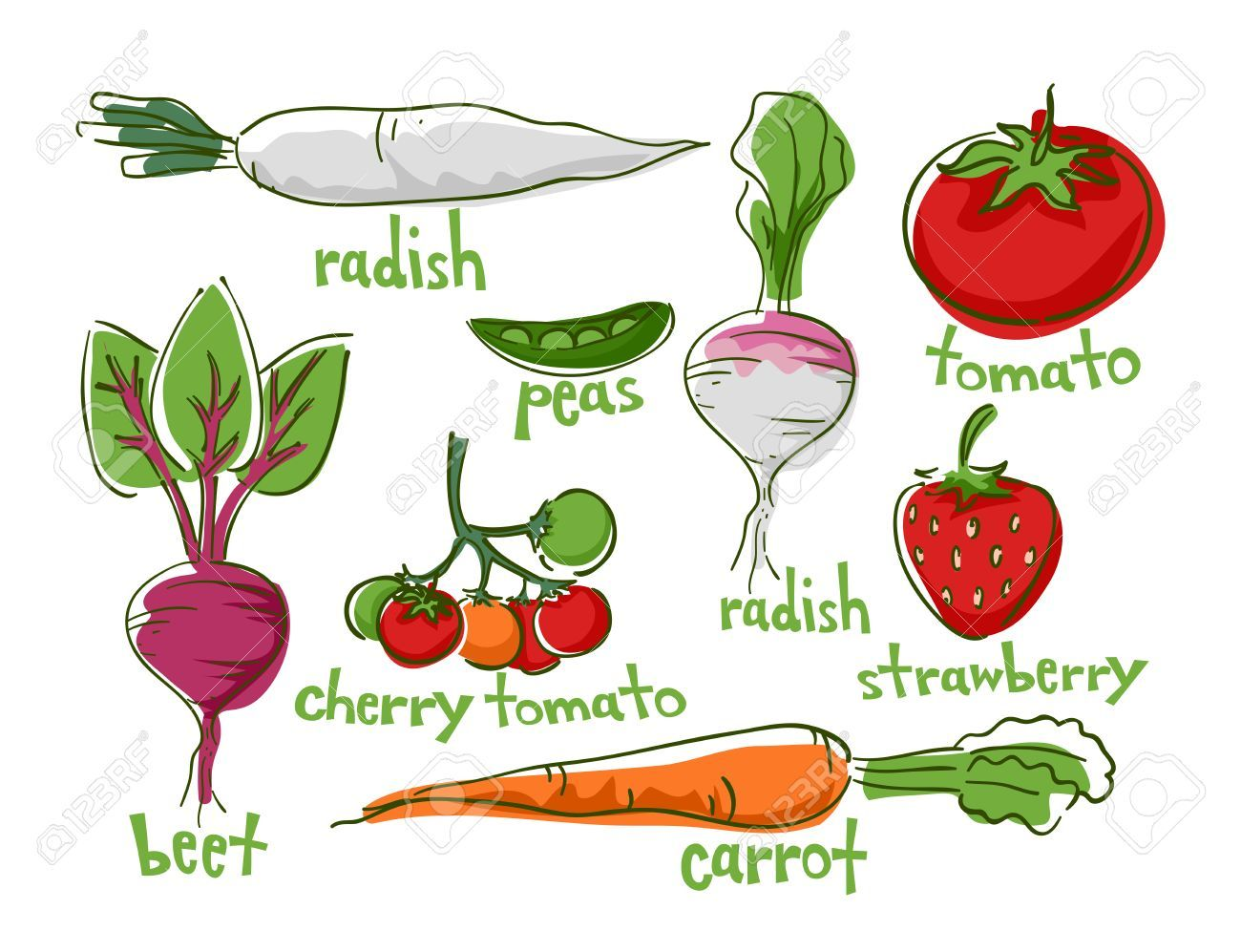 Clipart vegetables easy. Fruits to grow portal