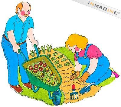 Panda free . Gardening clipart vegetable garden